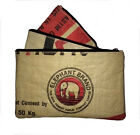 Fair Trade Elephant Brand Recycled 3 in 1 Pencil Case or Purse from Cement Bags