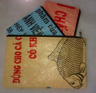 Fair Trade Fish Feed Recycled 3 in 1 Pencil Case or Purse made in Cambodia