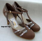 NEW CLARKS BARNEY TAUPE / SILVER COMBI SHOES