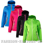 Women's Outdoor Jacket Softshell Functional Coat Sports Fitness Running M-XXL