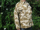 British Army Desert Jacket Combat Lightweight DPM With Zip Front Combat Camo UK