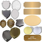 Trophy Engraving Plates  Name Plaques, Free Engraving. Many Sizes & Shapes