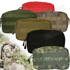 "General Purpose Utility Pouch - Dual Zipper Closure, MOLLE, 8.5"" x 4.5"" x 3.5."""