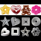 Various Fondant Cake Sugarcraft Pastry Cookie Decorating Mould Cutter Baking Kit