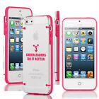 For iPhone 4 4s 5 5s 5c Transparent Clear Hard TPU Case Do It Better Cheerleader