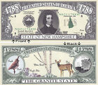 1788 U.S.A. State of New Hampshire NH Novelty Bill Notes 1 5 25 50 100 500 1000