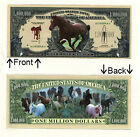 Hold Your Horses One Million Dollar Bill Novelty Notes 1 5 25 50 100 500 or 1000
