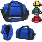 Two Tone 14 inch Duffle Duffel Bag Bags Travel Sport Gym Carry On Luggage Small