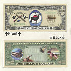 American Hunter 1 Million Dollar Bill Novelty Notes 1 5 25 50 100 500 or 1000