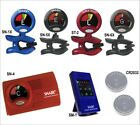 SNARK Clip-on Instrument Tuner for Guitar Bass, Brass & Violin - RED or BLACK