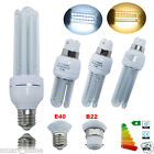 4x LED Corn Bulbs SMD Lamps 5W 7W 9W 12W 16W 24W B22 E27 E40 U-Shape 50W 70W 85W