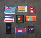 World Scouting - National Membership Scout Flag Name Badge Patch - Choice # A
