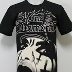 King Diamond T-Shirt 100% Cotton New Size S M L XL 2XL 3XL