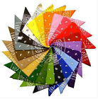 Loss Sales Cotton Boyish Bandanas Double Sided Head Wrap Scarf Wristband New