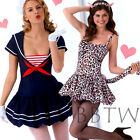 SIMPLICITY PATTERN 2072 sexy sailor witch cosplay Lolita moon kitty cat dress