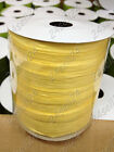 100 yard Paper Raffia Ribbon Packaging Tape Gift Wrapping Stripe Decorate Yellow