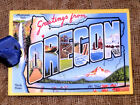 Hang Tags GREETINGS FROM OREGON SOUVENIR POSTCARD TAGS or MAGNET #G 5 Gift Tags