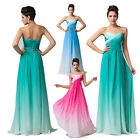 Elegant Women Lady Bridesmaid Long Prom Ball Gown Evening Cocktail Formal Dress