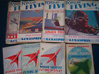 COLLECTABLE VINTAGE FLYING MAGAZINES  chose from the drop-down menu below