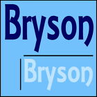 Bryson Boys Name Wall Sticker -18x40cm Interior Home Vinyl Decal Decor Sign