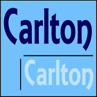 Carlton Boys Name Wall Sticker -18x40cm Interior Home Vinyl Decal Decor Sign