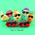 FUNKY FRUIT STUD EARRINGS GIRLS SNACK JUNK FOOD RETRO COOL KITSCH QUIRKY CUTE