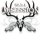 Skull Obsession,deer skull t shirt,bow hunter,archery,buck hunting,compound bow