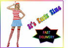 Official Where's Wenda Fancy Dress Costume, Where's Wally, Party, Hen Night