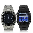 1.6'' Wrist Watch Mobile Cell Phone Unlocked Touch Screen GSM GPRS Spy Camera FM