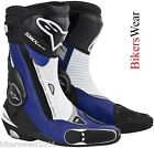 Alpinestars S-MX Plus Blue NEW 2013 Motorcycle Racing & Sport  Boots