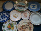 ENGLISH & EUROPEAN PLATES fine china porcelain wall / household  chose from menu