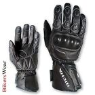 Richa WP Racing Waterproof Gloves Black all sizes available
