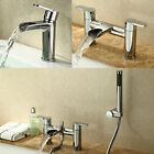 LOTUS CIRCULAR WATERFALL ROUND SINK BASIN MONO BATH FILLER SHOWER MIXER TAP
