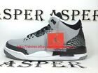 Nike Air Jordan 3 Retro Wolf Grey Silver 2014 Mens Basketball Shoes136064 004 DS