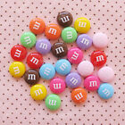 New 10pcs Resin Letter M Bead Flatback Cabochon ScrapbookIng mix !