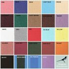 """Miniature Projects - Self Adhesive Carpet - 19"""" X 13"""" - CHOOSE YOUR COLOUR"""