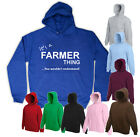 NEW WOMENS MENS IT'S A FARMER THING YOU WOULDN'T UNDERSTAND..HOODY