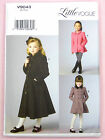 Vogue V9043 Sewing Pattern Childs/Girls Jacket & Coat  - Approx Ages 2-8