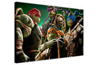 TEENAGE MUTANT NINJA TURTLES CANVAS PICTURES WALL ART PRINTS MOVIE POSTERS