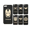 New Deluxe Men Hard Back Mobile Phone Black Skin Case Cover For iPhone4 4S 4KSX