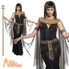 Adult Dark Cleopatra Costume Sexy Black Nile Queen Egyptian Ladies Fancy Dress