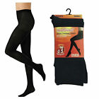 LADIES HEATGUARD BLACK TOG 0.5 THERMAL TIGHTS SIZE SMALL MEDIUM LARGE SK299
