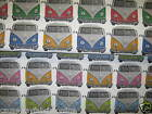 CHATHAM-GLYN CAMPERDAYS CANDY/NAUTICAL 100% COTTON FABRIC CURTAINS / CUSHIONS