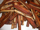 kiln dried cocobolo rosewood with some white wood 1 X 1 X 6 INCHES LONG 100 pcs