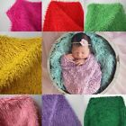 1Pc New 1.5X1m Baby Photography Photo Props Faux Wool Basket Stuffer Blanket Rug