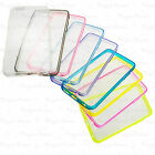 Clear Back Acrylic Case Soft TPU Ultra thin edge Skin For iphone 6 4.7 inch LOT