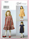 Vogue V9042 Sewing Pattern Childs/Girls Dress - Lined - Easy - Approx Ages 2-8