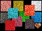 500G CHOCOLATE DROPS CHOOSE A COLOUR CANDY  LOLLIES BULK CHOC DROPS BEANIES