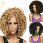 Fashion Short Brown, Black,Blonde Curly Women Natural Hair Wig Optional Color