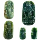 0977 Carved indian agate kwan-yin pendant bead